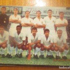Coleccionismo deportivo: POSTAL EQUIPO VALENCIA)- BERGAS, 1967. Lote 122490135