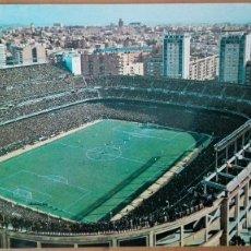 Coleccionismo deportivo: POSTAL Nº 134 ESTADIO SANTIAGO BERNABEU REAL MADRID CAMPO FUTBOL ESPAÑA LIGA PERFECTA CONSERVACION. Lote 122752815