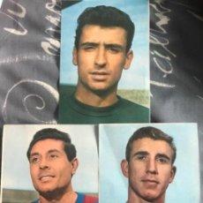 Coleccionismo deportivo: LOTE POSTALES ANTIGUAS FUTBOL CLUB BARCELONA TEMPORADA 1968 1969 OLIVELLA REIXACH SADURNI. Lote 122883771