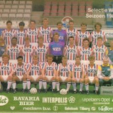 Coleccionismo deportivo: POSTAL WILLEM II (HOLANDA). Lote 125220519