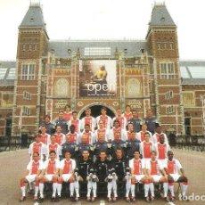 Coleccionismo deportivo: POSTAL PUBLICITARIA AJAX (HOLANDA) TEMPORADA 2003/04 . Lote 125221043