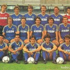Coleccionismo deportivo: POSTAL PUBLICITARIA VERONA (ITALIA) 1986/87 . Lote 125221651