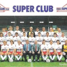 Coleccionismo deportivo: POSTAL ROYAL ANTWERP (BÉLGICA). TEMPORADA 1989/90 . Lote 125222235