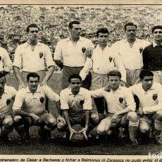 Coleccionismo deportivo: CESAR A BERBESSY EL ZARAGOZA . Lote 125830987