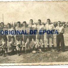 Coleccionismo deportivo: (F-180711)POSTAL FOTOGRAFICA EQUIPO DE FUTBOL. Lote 127228695