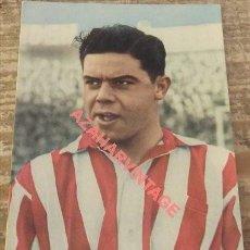 Coleccionismo deportivo: CROMO TAMAÑO POSTAL DE ARIETA, ATHLETIC DE BILBAO. Lote 127337623