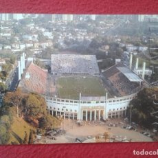 Coleccionismo deportivo: POSTAL POST CARD CARTE POSTALE CAMPO DE FÚTBOL FOOTBALL STADIUM BRASIL BRAZIL SAO PAULO PACAEMBU VER. Lote 127899059