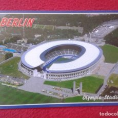 Coleccionismo deportivo: POSTAL POST CARD CARTE POSTALE CAMPO DE FÚTBOL FOOTBALL BERLIN GERMANY ALEMANIA OLYMPIA-STADION. Lote 127949047