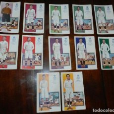 Coleccionismo deportivo: COLECCION COMPLETA DE 12 POSTALES DEL REAL MADRID CLUB DE FUTBOL, CAMPEON DEL CENTRO DE ESPAÑA 1922 . Lote 128583575
