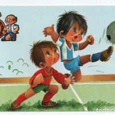 Coleccionismo deportivo: (ALB-TC-1) POSTAL REAL CLUB DEPORTIVO ESPAÑOL SIN CIRCULAR. Lote 221739640