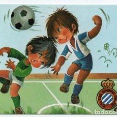 Coleccionismo deportivo: (ALB-TC-1) POSTAL REAL CLUB DEPORTIVO ESPAÑOL SIN CIRCULAR. Lote 221739643