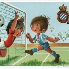Coleccionismo deportivo: (ALB-TC-1) POSTAL REAL CLUB DEPORTIVO ESPAÑOL SIN CIRCULAR. Lote 221739646