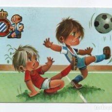 Coleccionismo deportivo: (ALB-TC-1) POSTAL REAL CLUB DEPORTIVO ESPAÑOL SIN CIRCULAR. Lote 221739652