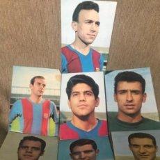 Coleccionismo deportivo: LOTE POSTALES ANTIGUAS FC BARCELONA JUGADORES FÚTBOL FUTBOLISTAS POSTAL OSCAR COLOR. Lote 128977027