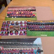 Coleccionismo deportivo: CUATRO POSTALES DEL BARÇA AÑOS 73,84, 87. Lote 130604732