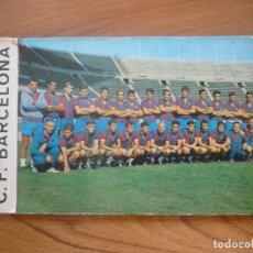 Coleccionismo deportivo: LOTE POSTALES SIN CIRCULAR FUTBOL LIGA PLANTILLA BARCELONA 1968 1969 - GRAFICAS BERGAS BARÇA 68 69. Lote 130718919