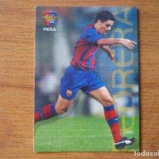 Coleccionismo deportivo: MEGACRACKS BARÇA CAMPIO 2004 2005 PANINI Nº 121 PEÑA - BARCELONA 04 05. Lote 257675000