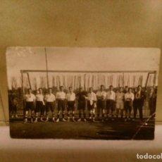 Coleccionismo deportivo: FOTOGRAFÍA POSTAL EQUIPO DE FUTBOL. Lote 131002628