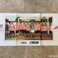 Coleccionismo deportivo: 100 AÑOS DE ARTE EN SAN MAMÉS. COLECCIÓN 6 POSTALES CENTENARIO ATHLETIC CLUB BILBAO. Lote 131094456