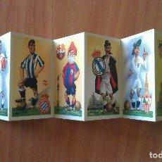 Coleccionismo deportivo: POSTALES ANTIGUAS DE FÚTBOL : OCHO EQUIPOS. Lote 131106039