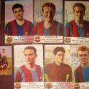 Coleccionismo deportivo: 10 POSTALES POSTAL JUGADORES BARÇA , CASTELLBLANCH 1952 CAMPEON LIGA KUBALA CESAR RAMALLETS. Lote 131301259