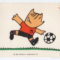 Coleccionismo deportivo: POSTAL SIN CIRCULAR BARCELONA 92 COBI. Lote 131483686