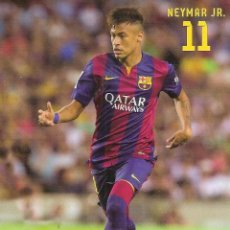 Coleccionismo deportivo: POSTAL NEYMAR (FC BARCELONA). Lote 134230034