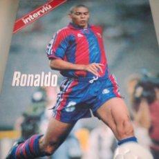 Coleccionismo deportivo: ESTRELLAS DE LA LIGA 96_97 RONALDO. Lote 134410459