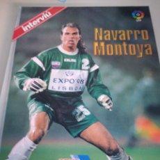 Coleccionismo deportivo: LAS ESTRELLAS DE LYLIGA 96-97 NAVARRO MONTOYA. Lote 134410679