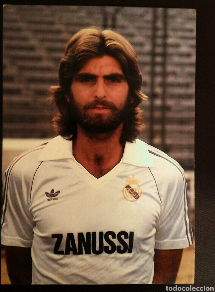 FOTO POSTAL OFICIAL JUAN JOSÉ REAL MADRID (Coleccionismo Deportivo - Postales de Deportes - Fútbol)