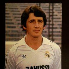 Coleccionismo deportivo: FOTO POSTAL OFICIAL SALGUERO REAL MADRID. Lote 134836083