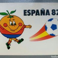 Coleccionismo deportivo: POSTAL ESPAÑA 82 MUNDIAL DE FUTBOL NARANJITO COLECCION PERLA. Lote 135165618