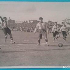 Coleccionismo deportivo: FÚTBOL POSTAL FOTOGRÁFICA PARTIDO C.E. EUROPA VS U.E. SANTS COPA CATALUNYA 1929 ?. Lote 135416566