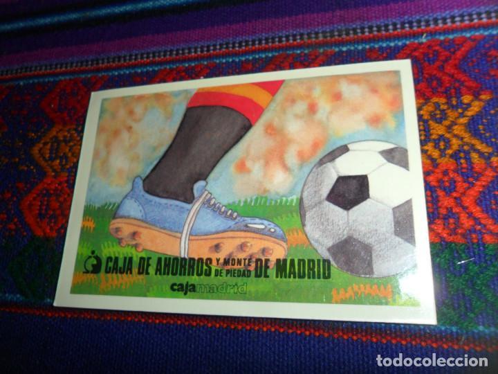 Calendario Atletico Madrid.Postal Real Madrid F C Barcelona Valencia Atletico Madrid Regalo Calendario Cajamadrid Mundial 82