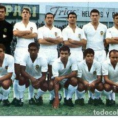 Coleccionismo deportivo: POSTAL FUTBOL, PLANTILLA JUGADORES DEL VALENCIA 1967 , ORIGINAL , PFFF. Lote 136857130