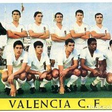 Coleccionismo deportivo: POSTAL FUTBOL, PLANTILLA JUGADORES DEL VALENCIA 1968 , ORIGINAL , PFFF. Lote 136857362