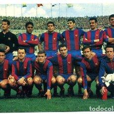 Coleccionismo deportivo: POSTAL FUTBOL, PLANTILLA JUGADORES DEL BARCELONA , ORIGINAL , PFFF. Lote 136857958