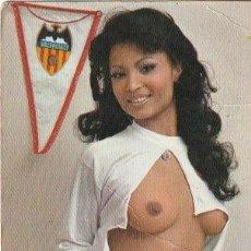 Coleccionismo deportivo: POSTAL VALENCIA C. F. SEÑORITA - DOC-1. Lote 137127610
