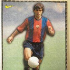 Coleccionismo deportivo: F. C. BARCELONA BARÇA NADAL LAMINA POSTAL NIKE MUNDO DEPORTIVO 98-99 1998-1999. Lote 137209054