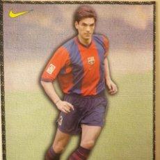 Coleccionismo deportivo: F. C. BARCELONA BARÇA PELLEGRINO LAMINA POSTAL NIKE MUNDO DEPORTIVO 98-99 1998-1999. Lote 137209106