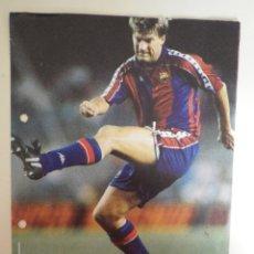 Coleccionismo deportivo: FICHA LOS MEJORES DE LA LIGA 93 94 1993 1994 DIARIO 16 Nº 38 LAUDRUP BARCELONA BARÇA. Lote 137209266