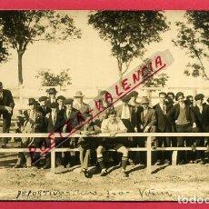 Coleccionismo deportivo: POSTAL FOTOGRAFICA , CAMPO ESTADIO DEL ALAVES , DEPORTIVO ACERO 1927 , ANTIGUA , ORIGINAL , PF4. Lote 137335798