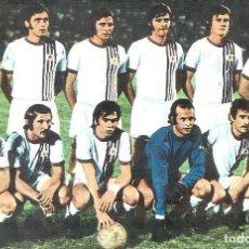 Coleccionismo deportivo: POSTAL SLOVAN BRATISLAVA CHECOSLOVAQUIA AÑOS 70. Lote 137639842