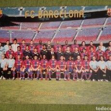 Coleccionismo deportivo: POSTAL GIGANTE (32X23) DEL FC BARCELONA TEMPORADA 2007/2008. BARÇA. Lote 139132669