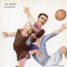 Coleccionismo deportivo: FUTBOL-- UN BUEN DESPEJE--- CERVELLÓ Nº 1229 .MUY RARA. Lote 139813262