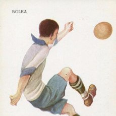 Coleccionismo deportivo: FUTBOL-BARÇA- BOLEA--- CERVELLÓ Nº 1223 .MUY RARA. Lote 139813458