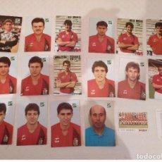 Coleccionismo deportivo: REAL BURGOS C.F. COLECCION 16 POSTALES 90/91 MAS CALENDARIO E HIMNO DEL CLUB. Lote 140596574