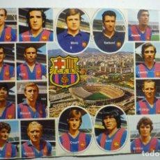 Coleccionismo deportivo: POSTAL FUTBOL CLUB BARCELONA-PLANTILLA. Lote 140690630