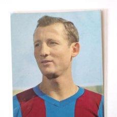 Coleccionismo deportivo: POSTAL GALLEGO FC BARCELONA Nº 9 FOTO SEGUI AÑO 1966, NO CIRCULADA. Lote 143023434