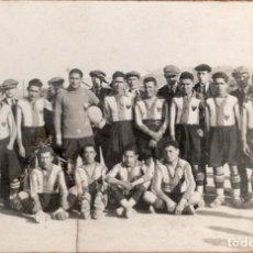Coleccionismo deportivo: EQUIPO DE FUTBOL. VILAFRANCA DEL PANADES ?. Lote 143076086